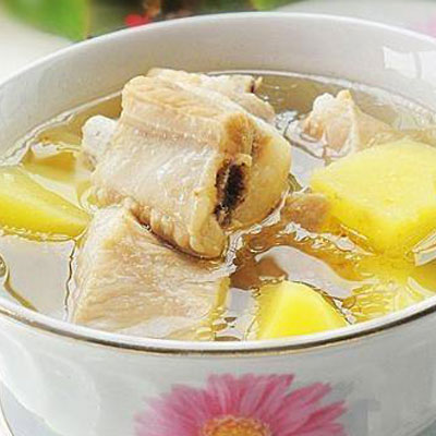 土豆排骨汤的做法,味道鲜美营养丰富